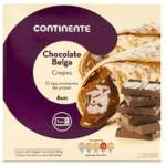CREPES CHOCOLATE CONTINENTE 540GR 6 UNID